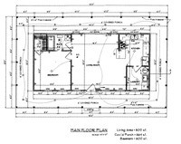 House Floor Plan Thumbnail: 0800-S1-2030