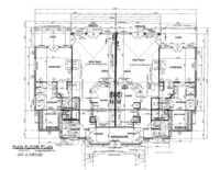 House Floor Plan Thumbnail: 2400-S3-2005