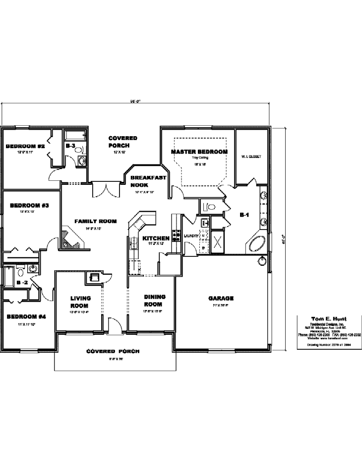 House Plan Detail: 2279-S1-2864