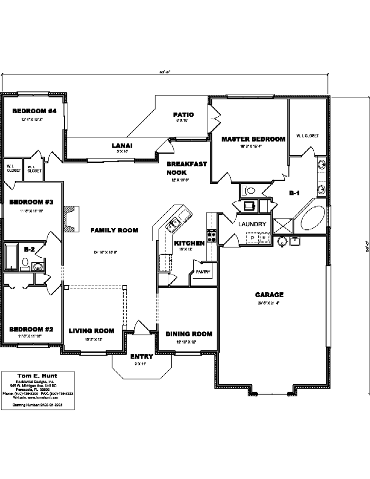 House Plan Detail: 2450-S1-2981