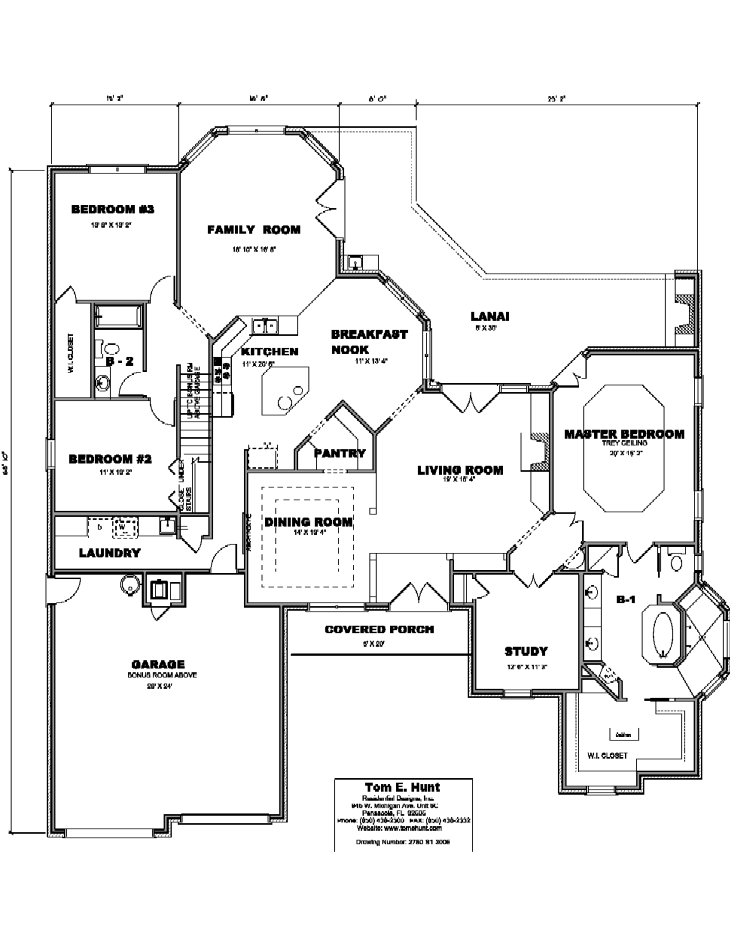 House Plan Detail: 2750-S1-3006